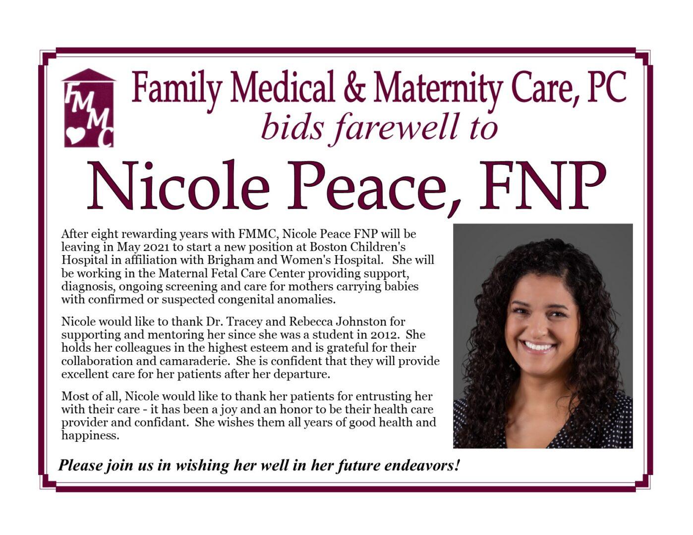 NP Farewell Posting
